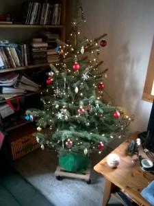 Unser (1.) Weihnachtsbaum