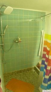 Erstes Highlight: Dusche funktioniert super