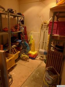 Kruschelzimmer wird Hunde- und Werkzeugzimmer