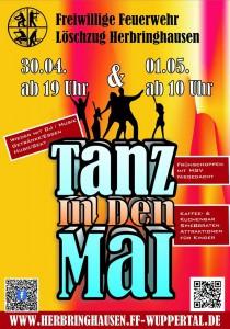 Einladung zum Tanz in den Mai und 1.Mai-Feier in Herbringhausen