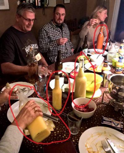 Prost Neujahr!!! oder die letzte Eierlikör-Probe 2017